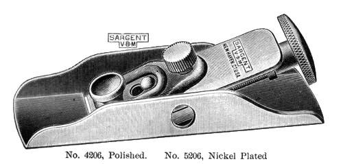 Sargent No. 5206 All-Steel Low Angle Block Plane